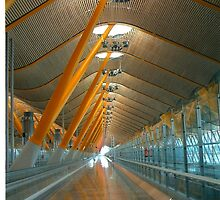Madrid Airport by IngridSonja