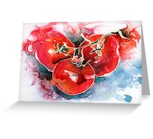 Tomato Juice Greeting Card
