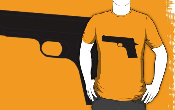 Gun shirt by Raudius