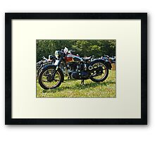 BSA M20/M21 Framed Print