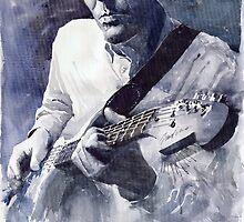 Jazz Guitarist Rene Trossman by Yuriy Shevchuk