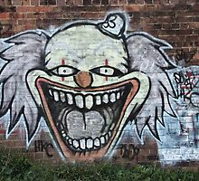The Clown Of Graffiti by rossco