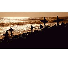 COORDINATED SURFERS  Photographic Print