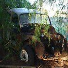 Broken down car by Caity Sleeman