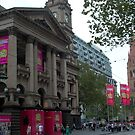 Melbourne Town Hall view by BronReid