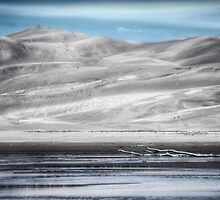 Great Sand Dunes NP, Colorado, Blue by pixsellchix1