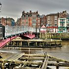 Whitby swing bridge by Stephen Knowles