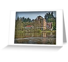 Brewhouse on the Deschutes Greeting Card