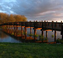 Park Bridge Sunset by bicyclegirl