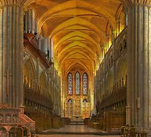Truro Cathedral Quire and Altar by Bob Culshaw