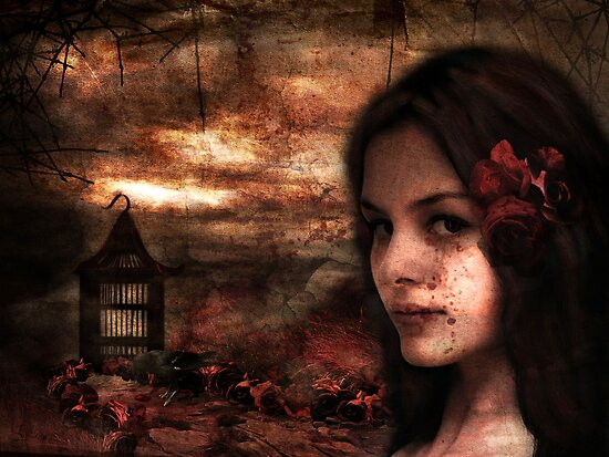 Blood Rose Tears by Sybille Sterk