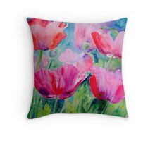 Fleeting Beauty Throw Pillow