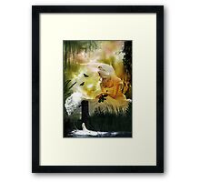 What dreams may come. Framed Print