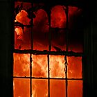 fire in the window by Alex Eldridge