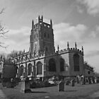 St Mary's Fairford by RedHillDigital