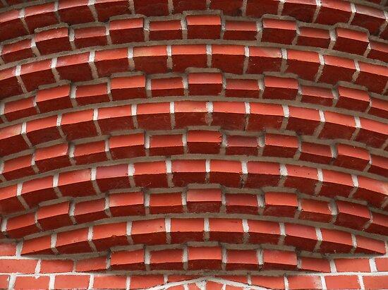 Beautiful brick - bay window, detail by Marjolein Katsma