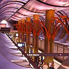 Love, Hollywood and Highland Metro Station by Ray Schiel
