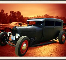 "1929 Ford Sedan ""Rat Rod"" by TeeMack"