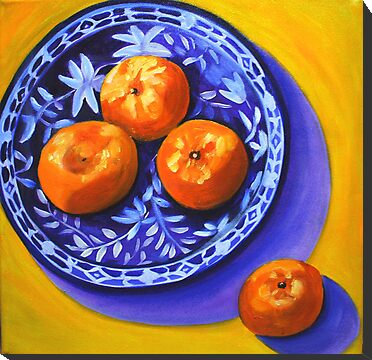 Mandarins by marlene veronique holdsworth