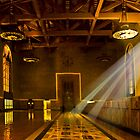 Ray of light - Union Station , CA by LudaNayvelt