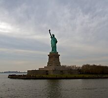 Liberty Island by David McEvoy