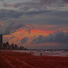 Sunset over Surfers Paradise by avlis