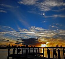 Marina Sunset, Forster by bazcelt