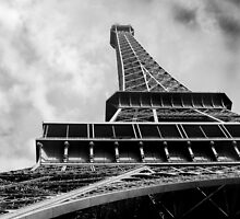 Eiffel Tower in Paris by keithphotos