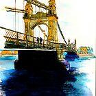 Hammersmith Bridge by Richard Waldron