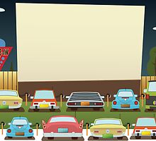 Home Town Drive in by Mike Cressy