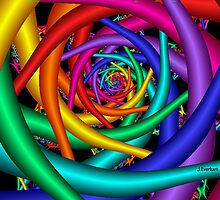 Rainbow Tunnel by Julie Everhart