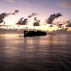 Polynesian Sunrise by Lucinda Walter