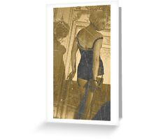 Burlesque Greeting Card