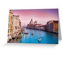 Veni Vici Venice Greeting Card