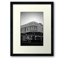 Luck's Corner Framed Print