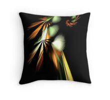The Resplendent Quetzal - PostCardArt Throw Pillow