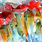 Poppy Field by Yevgenia Watts