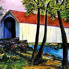 Bucks County Covered Bridge by Marita McVeigh