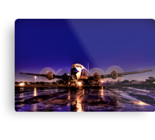 Night Flight Metal Print