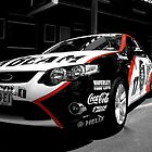 Jim Beam Race Car-Selective Coloured by Craig Stronner
