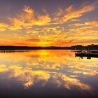 The Barge - Strahan Tasmania by Hans Kawitzki