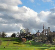 The Royal Observatory in Greenwich by monkeypolice