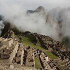 Machu Picchu in the Clouds by tpfmiller