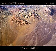 Planet Art Three by Bo Insogna
