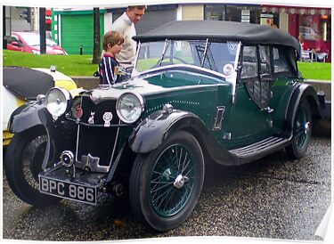 Riley Lynx Tourer 1934 by oulgundog