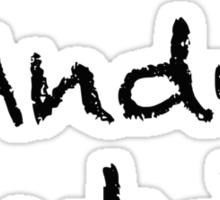 Andy Samberg T Sticker