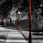 Row of Lights-Selective Colour version by Craig Stronner