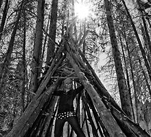 Self Portrait TeePee by Saphronne Farrell