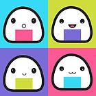 Onigiri Family by misstaraleexo