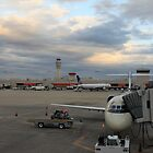 Airport At Dusk by Natalie Whatley